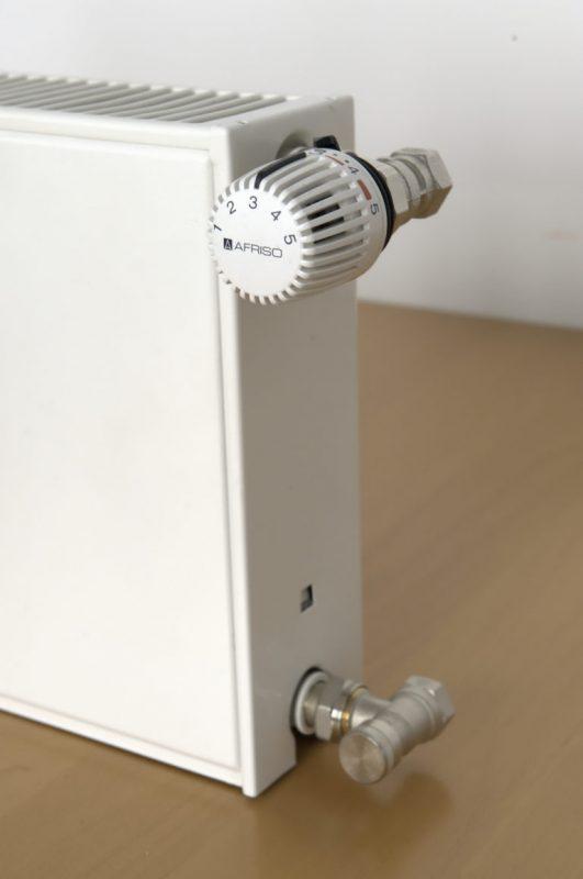 Ablauf des hydraulischen Abgleichs - Thermostatköpfe abnehmen